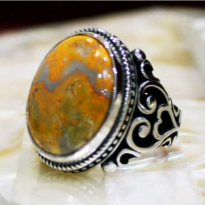 Ottoman Style Silver Ring